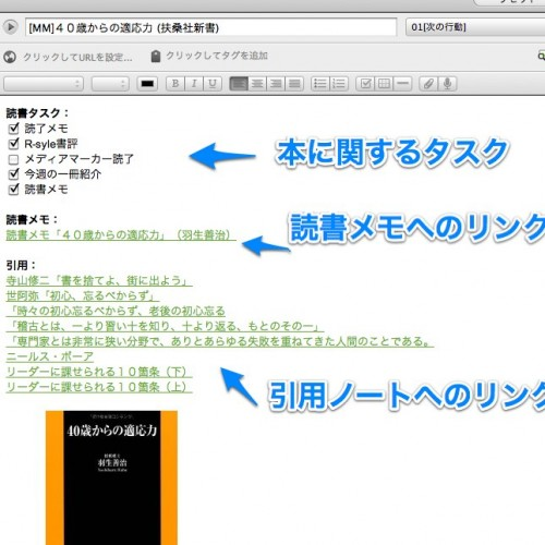 Evernoteでの読書ノート(上)