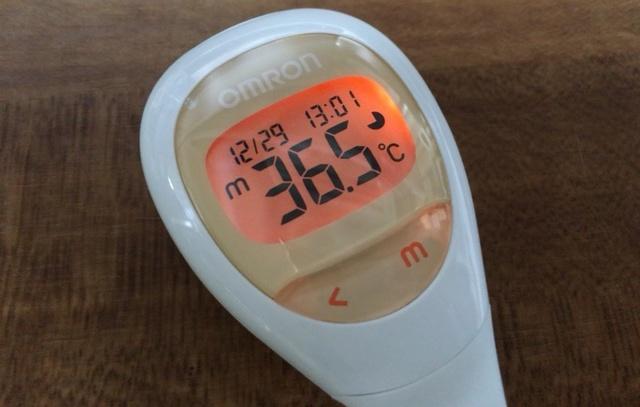タイミング 検温 の
